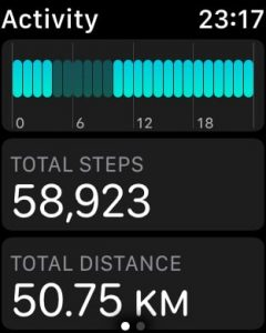 May 13, 2018 walkabout: 58,923 steps, 50.73km